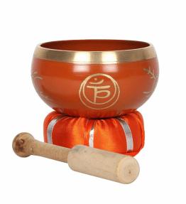 Tibetan Brass Singing Bowl - 2nd Orange Sacral Chakra Swadhisthana