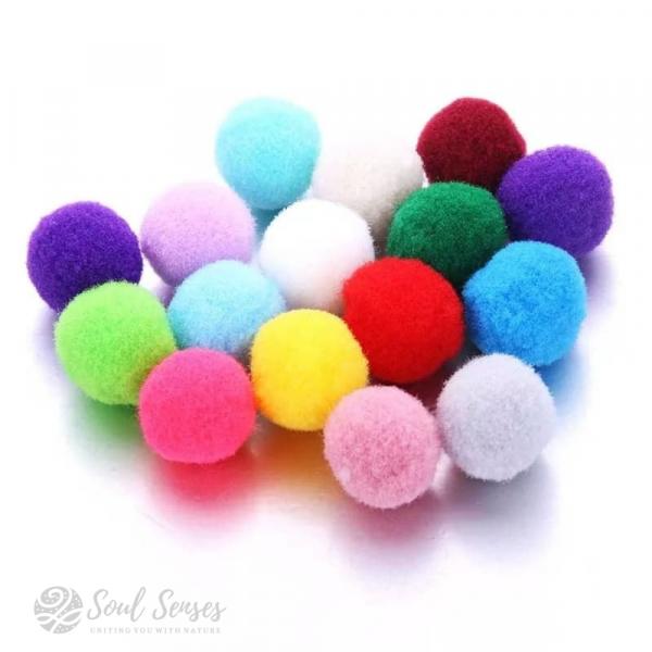 Aroma Diffuser Pendant Inserts Round Felt Pompom Balls