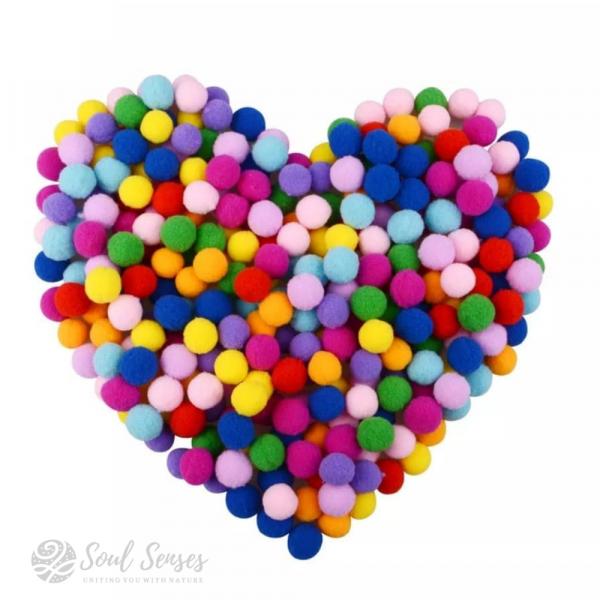 Aromatherapy Diffuser Locket Inserts Round Felt Balls