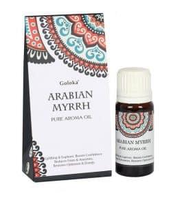 Arabian Myrrh Fragrance Oil by Goloka 10ml