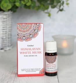 Himalayan White Musk Fragrance Oil by Goloka 10ml