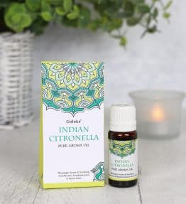 Indian Citronella Fragrance Oil by Goloka 10ml
