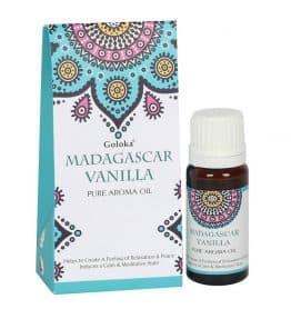 Madagascar Vanilla Fragrance Oil by Goloka 10ml