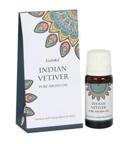 Indian Vetiver Fragrance Oil by Goloka 10ml