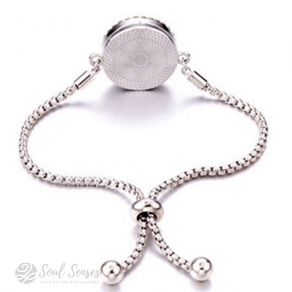 Essential Oil Aromatherapy Diffuser Bracelet back vew