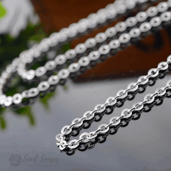 Essential Oil Aromatherapy Diffuser Pendant Chain.