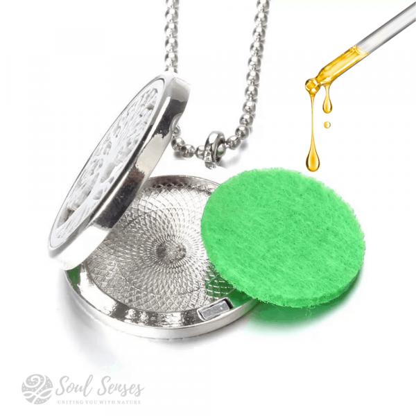 Essential Oil Cosmetic Pipette Dropper for aroma pendant
