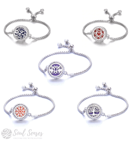 Soul Senses 5 Adjustable Aroma Bracelets