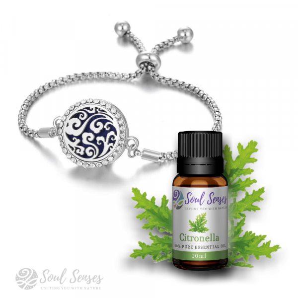 Curly Clouds Bracelet & Citronella Bundle Set