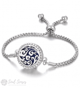 Essential Oil Aromatherapy Diffuser Bracelet – Curly Clouds.