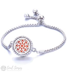 Essential Oil Aromatherapy Diffuser Bracelet – Mandala.